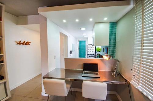 Apartamento Em Rio Branco, Porto Alegre/rs De 62m² 1 Quartos À Venda Por R$ 430.000,00 - Ap783390