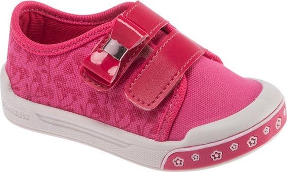 Tênis Infantil Menina Fase 3 Pimpolho Rosa Pink Tam. 27