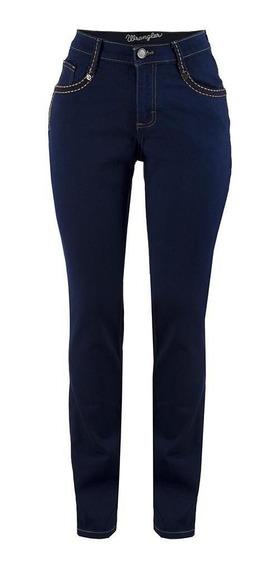 Jeans Vaquero Wrangler Mujer Slim Fit U10