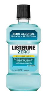 Listerine Zero Menta Suave Enjuague Bucal 500 Ml