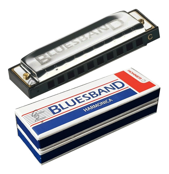 Armonica Blusera Hohner Blues Viper Bluesband Diatonica En C