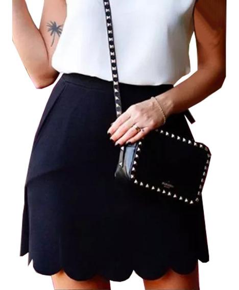 Faldas Para Mujer Limonni Ameliee Li2048 Cortos Elegantes