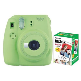 Câmera Instantânea Fujifilm Instax Mini 9 Verde Lima+pack 30