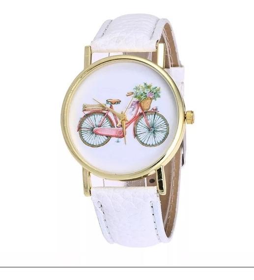 Relógio Pulso Ponteiro Bicicleta