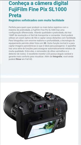 Câmera Semi-profissional Nova Fujifilm