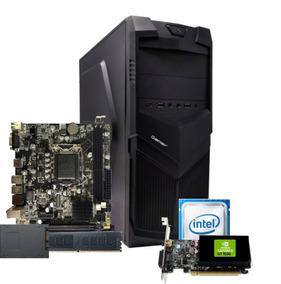 Cpu Bg3521 Intel Core I3 2100 H61d 8gb Ssd120gb 350w Gt 1030