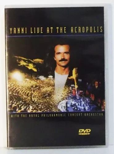 Dvd Yanni Live At Acropolis 1994 Santorini The End Of August