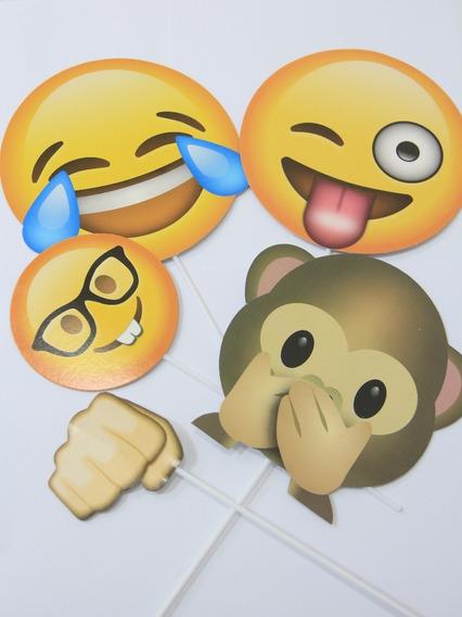 Props Emojis Carteles Para Fotos Photobooth X 12und Caba