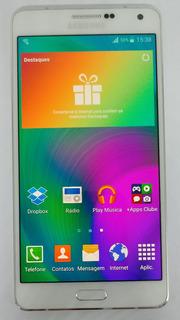 Samsung Galaxy A7 4g A700fd 16gb Branco Vitrine Burn-in