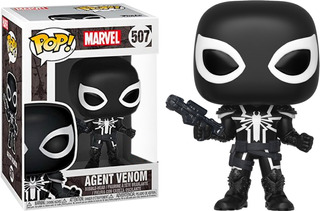Funko Pop! Marvel #507 Agent Venom (exclusivo) Nortoys