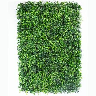 20 Pzas Muro Verde Follaje Artificial Sintentico 60x40 Cm