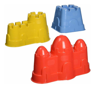 Small World Toys Sand & Amp; Agua - Conjunto De Castillo De