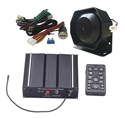 As 100w Federal Siren Kit As7100d-spk0021 Paquete De 3 Pieza