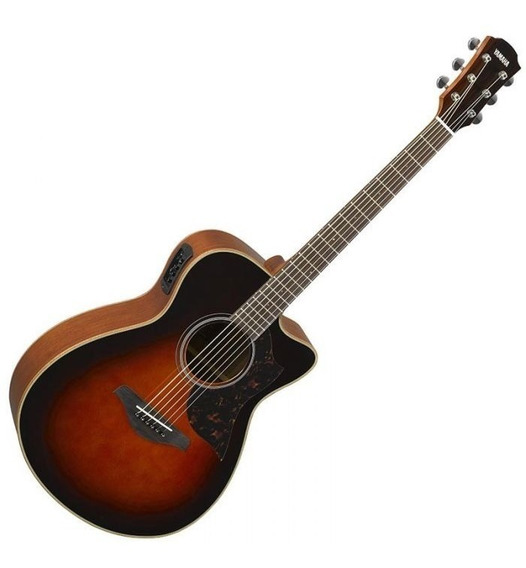 Violão Yamaha Eletro-acústico Cutway Ac1m Ii Tbs *