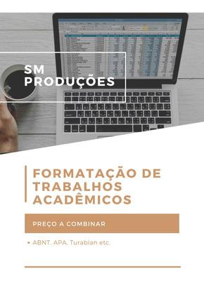 Formatação De Trabalhos Acadêmicos