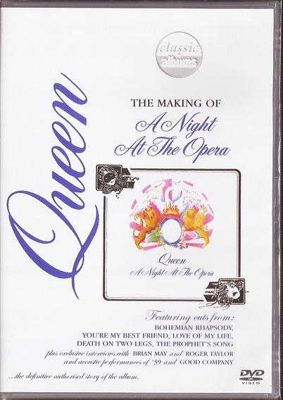 Queen A Night At The Opera The Making Of Dvd Nuevo