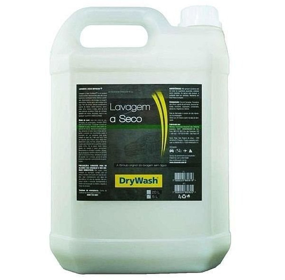 Shampoo Lavagem Seco Neutro 5 Litros Drywash