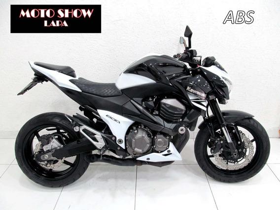 Kawasaki Z 800 Abs 2013 Branca