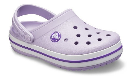 Crocs Originales Crocband Kids Violeta Claro | Nena - Nene