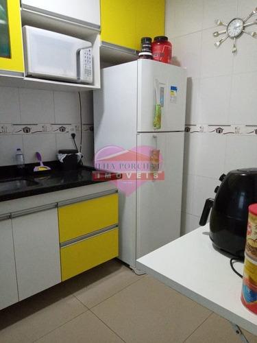 Imagem 1 de 15 de Apartamento Em Rua Stélio Vila Fatima - São Vicente, Sp - 1495