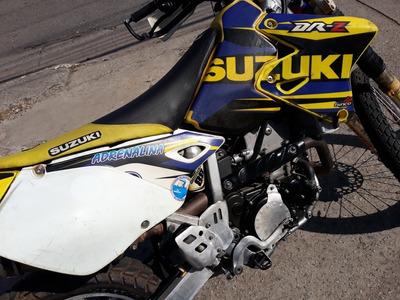 Suzuki Drz 400 Emplacada