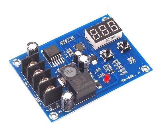 Controlador De Carga Bateria 12~24v Com Display Painel Solar