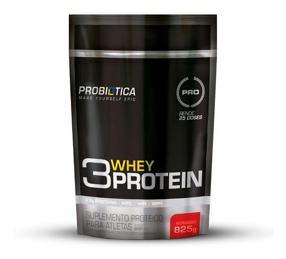 Whey Protein 3w Refil 825g - Probiótica