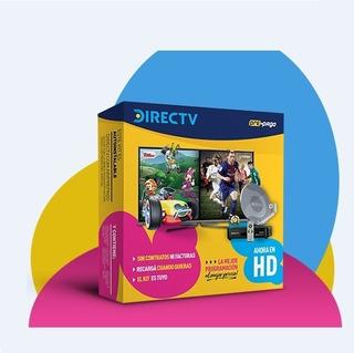 En Lanus Kit Directv Prepago Hd Nueva Antena 46cm