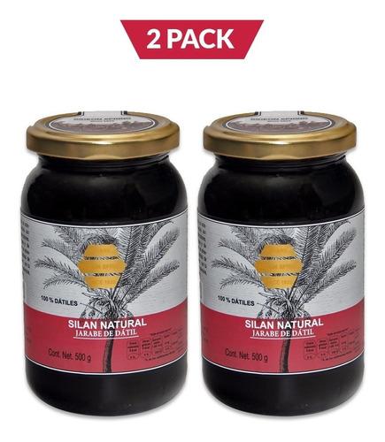 Silan Natural, Jarabe De Datil, 2 Pack, 2 Frascos De 500 Gr