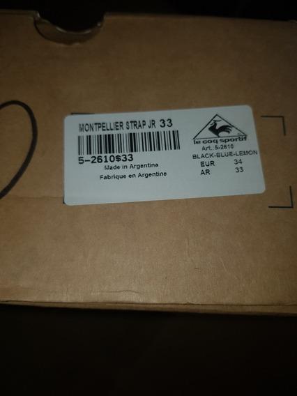 Zapatillas Kids Le Coq Sportif Nuevas !!!!