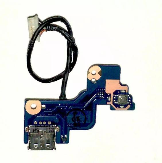 Botão Power Usb Samsung Rv411 415 419 420 P/n:ba92 07502a