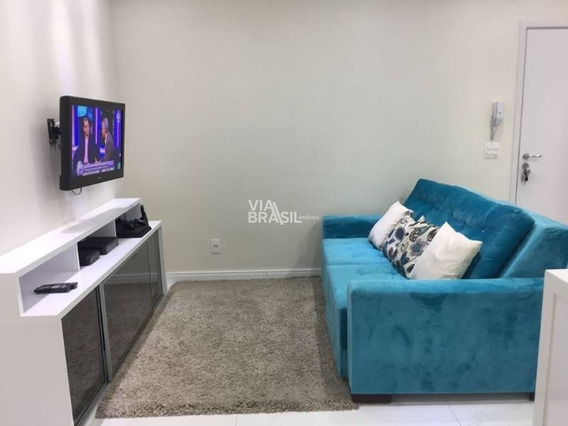 Apartamento Padrão Para Venda No Bairro Centro, 2 Dorms, 1 Vagas, 53 M - 344