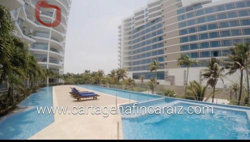 Imagen 1 de 14 de Venta O Permuta Apartamento Boquilla Ed Murano Beach, Cartagena