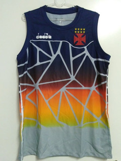 Camisa Regata Vasco Treino Oficial Diadora Basquete 2018