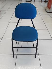 Kit 20 Cadeiras Para Escritório Fixa Estofada Qualidade Nfe