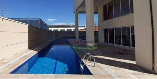 Apartamento Com 2 Dormitórios À Venda, 60 M² Por R$ 360.400 - Vila Rubens - Mogi Das Cruzes/sp - Ap7337