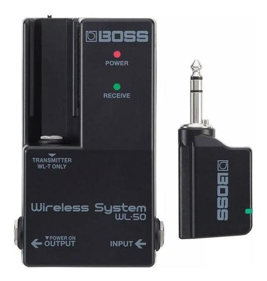 Transmissor E Receptor Boss Wireless Wl-50