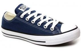 Tênis All Star Converse Original Azul Lona Frete Grátis