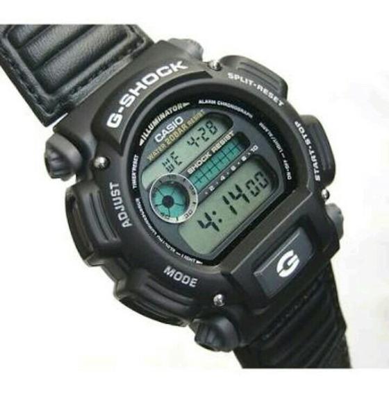 Casio Shock Dw-9052v-1d Black Nylon
