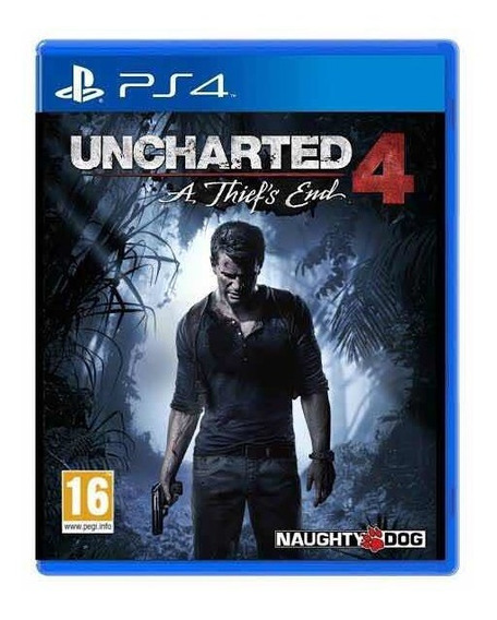 Uncharted 4 Mídia Física - Usado