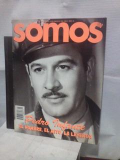 Pedro Infante. Somos. Revista.