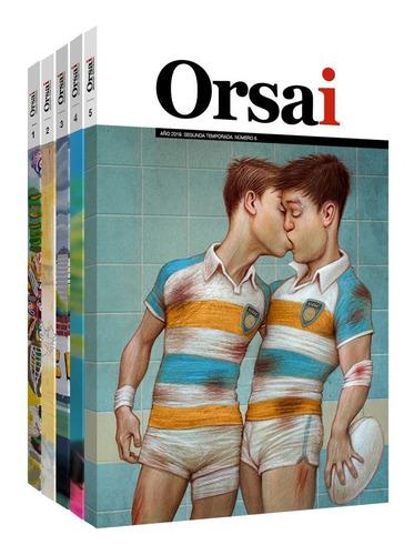 Imagen 1 de 6 de Orsai Nueva Temporada  ¡los Cinco Ejemplares! (2017-2019)
