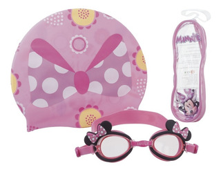 Gafa De Natación Disney Minnie Set 3 Pcs