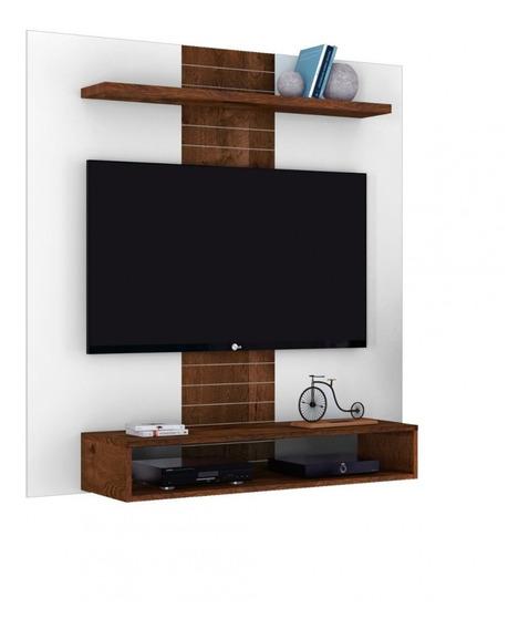 Painel Para Tv Ate 47 Smart Branco/rustico(i)