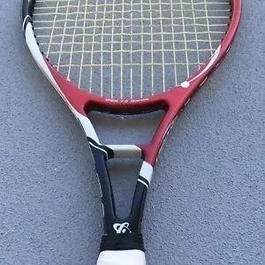 Raqueta Tenis Gamma Ipex 7.0+ Cuerda +anti +3 Pelotas Suelta