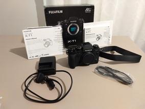 Camera Fuji Xt-1 Com Caixa +lente 18-55 2.8/4