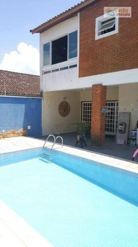 Imagem 1 de 30 de Sobrado Com 4 Dormitórios À Venda, 250 M² Por R$ 660.000,00 - Cibratel I - Itanhaém/sp - So0076
