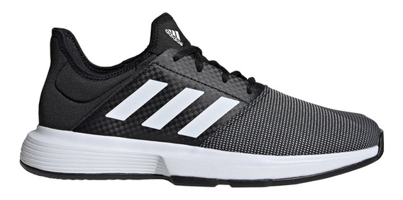 Zapatillas Tenis adidas Gamecourt M Negro/blanco - Hombre