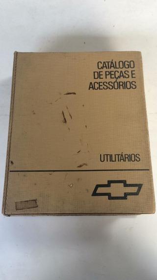Catálogo Peças Assessórios Original Chevrolet Manual Livro