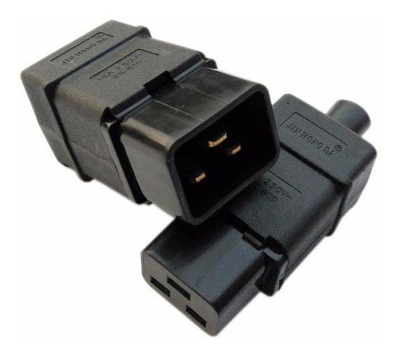 Conector Ficha Ups Macho C20 O C19 Iec 320 Reforzado